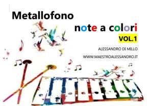 METALLOFONO - NOTE A COLORI