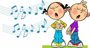 http://www.dreamstime.com/stock-photography-children-sing-illustration-cartoon-girl-boy-background-symbolic-musical-notes-illustration-done-cartoon-style-image42995832